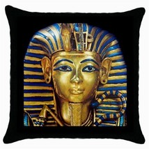 Throw Pillow Case Cushion Cover King Tut  Egyptian Pharaoh Tutankhamun 3... - $16.99
