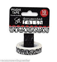 ADORNit Documented Faith Doodle Scallop Washi Tape - $8.35