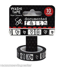 ADORNit Documented Faith Heart Squares Washi Tape - $8.35