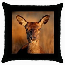 Throw Pillow Case Decorative Cushion Cover Deer Animals Wildlife Gift 30... - $16.99