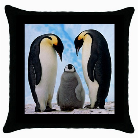 Throw Pillow Case Decorative Cushion Cover Emperor Penguins Gift model 30399413