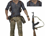 """Uncharted 4 Nathan Drake Action Figure Ultimate 7"""" by NECA - UC4 A Thief's End"""