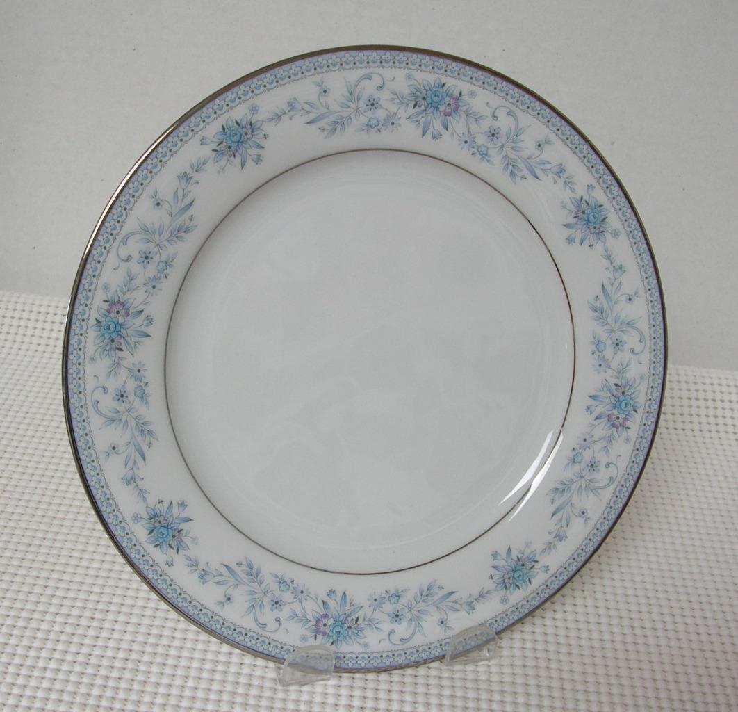 "Primary image for Noritake BLUE HILL 8 1/4"" SALAD PLATE Contemporary China Pat. 2482 8 Available"