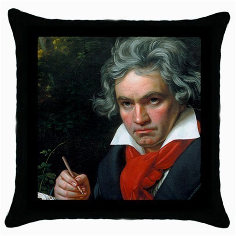 Throw Pillow Case Decorative Cushion Cover Ludwig Van Beethoven Gift 33222246
