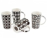 Fitz And Floyd Maxwell Williams Marrakesh Mug Set of 4
