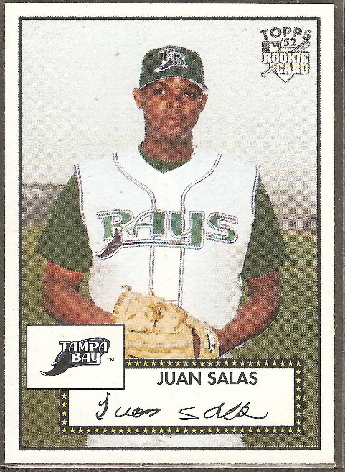 Juan Salas Topps '52 2007 #114 Rookie Card Tampa Bay Devil Rays - $0.20