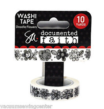 ADORNit Documented Faith Doodle Flowers Washi Tape - $8.35