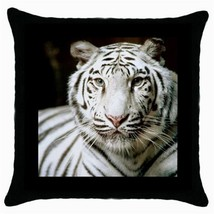 Throw Pillow Case Decorative Cushion Cover White Tiger Gift model 30399391 - $16.99