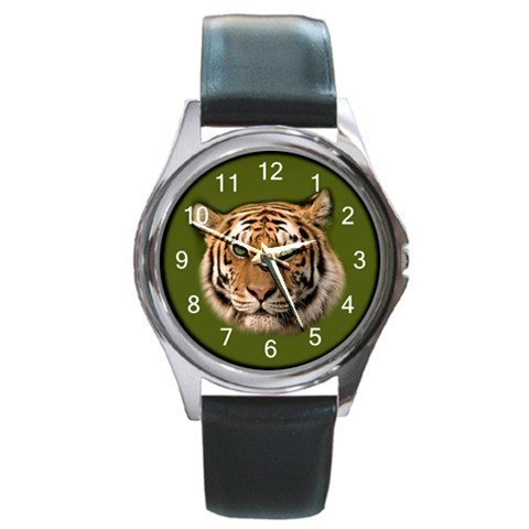 Primary image for Tiger Unisex Round Metal Watch Gift model 24150676