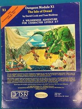 Dungeons & Dragons Dungeon Module X1 The Isle Of Dread(1981) Tsr - $9.89