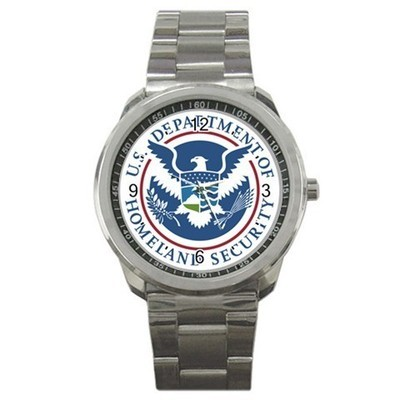 Us Department Of Homeland Security Sport Metal Watch Gift model 32977234