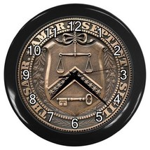 Us Department Of Treasury Decorative Wall Clock (Black) Gift model 34788988 - $18.99