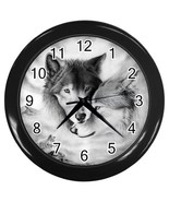 Wolf Mates Decorative Wall Clock (Black) Gift model 32047313 - $18.99