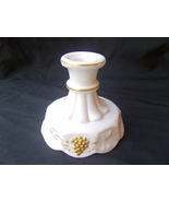 Westmoreland Paneled Grape Candle Holder w/ Gold - $9.99