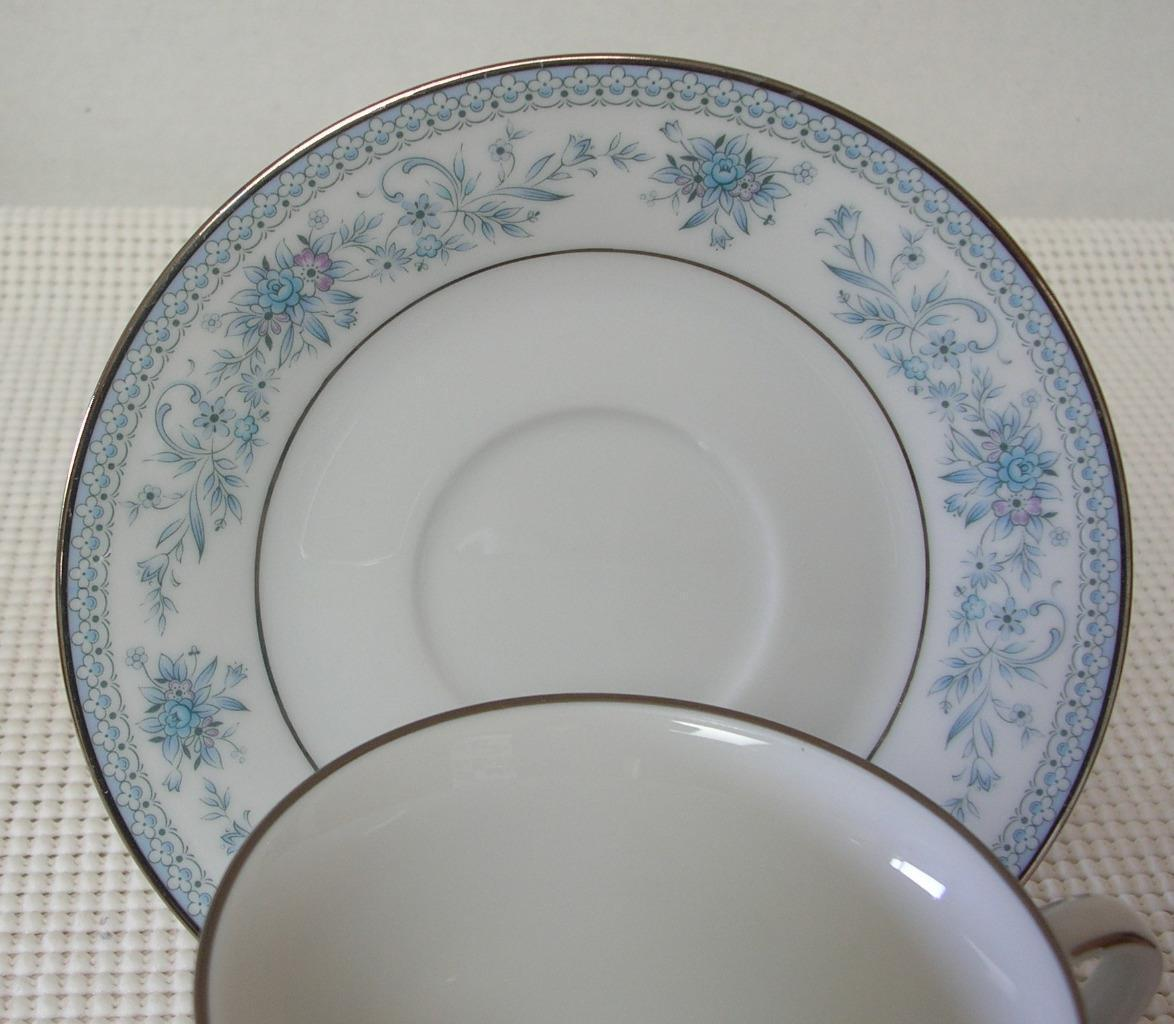 Noritake BLUE HILL REPLACEMENT SAUCER for TEACUP Contemporary China Pat. 2482 - $3.87