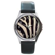 Zebra Unisex Round Metal Watch Gift model 22852708 - $13.99