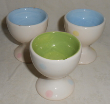 Vintage Collectible Primitive 3 Piece Ceramic S... - $3.95