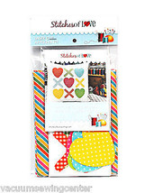 Stitches of Love Hugs and Kisses Pillow Pattern Plus Laser Cut Kit - $33.65