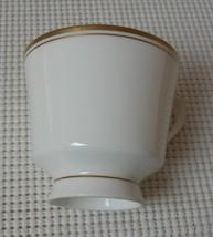 "Mikasa Wheaton Footed Cup ""Replacement"" Bone China Narumi Japan 102 Gold Trim - $7.27"