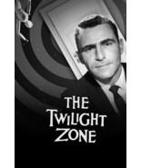 Rod Serling in The Twilight Zone Classic Logo Door TV Series 18x24 Poster - $23.99