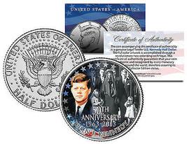 PRESIDENT KENNEDY ASSASSINATION Funeral Jackie Onassis JFK Half Dollar Coin - $8.95