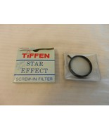 Tiffen Star Effect 52mm  6 Point 2MM Star Screw In Filter for 24mm Lens - $81.68