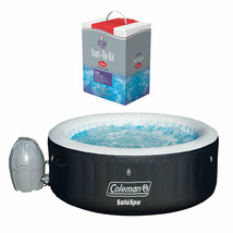 Coleman SaluSpa Inflatable Hot Tub + Leisure Time Chlorine Full Starter Spa Kit  - $1,999.99