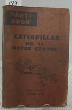 Cat Caterpillar No 16 Motor Grader Parts Book Manual 49 G305 Up Ue070100 - $19.39