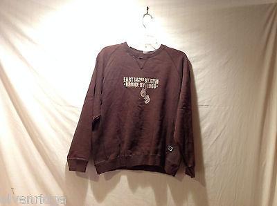 Kids Brown Sweatshirt Est.142nd St. Gym Bronx NY 1966, Size L(14-16) Boxing