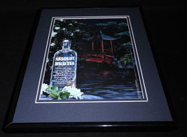 2011 Absolut Wild Tea 11x14 Framed ORIGINAL Advertisement - $32.36
