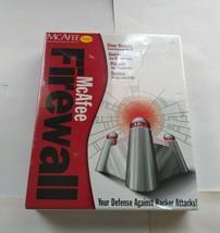 Vintage Windows 95/98 McAfee Firewall Package Software - $6.92