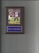 Brian Robison Plaque Minnesota Vikings Football Nfl - $2.23