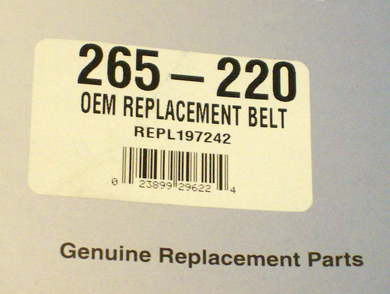 Deck Belt for AYP, Craftsman, Poulan PBGT22, PB22, PB24, XT22, 197242, 33154 USA