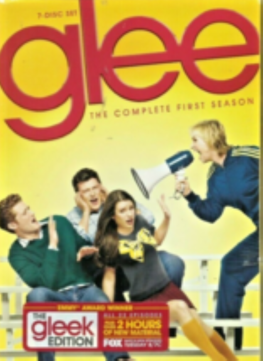 Glee The Complete First Season : The Gleek Edition Dvd