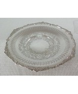 "Vintage 10"" Silverplate ROUND SERVING PLATTER TRAY Grape Shell OLD ENGLI... - $14.54"