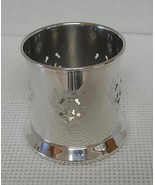 Vintage BEAUTIFUL MARLBORO Silver Plate  WINE HOLDER - EP on Copper Cana... - $14.54