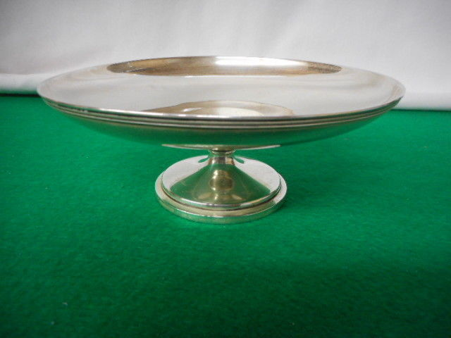 """Vintage Sterling Silver Footed Compote 6 1/4""""h"""