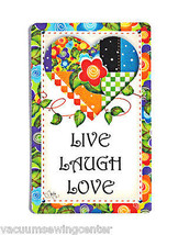 Live, Laugh and Love Magnet - $8.50