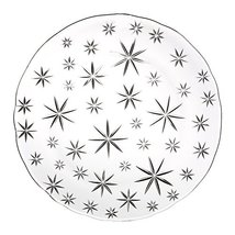 "Waterford Winter Star Round Plate 12"" - $39.95"