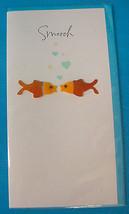 Single 3D Carlton Greeting Card Fish Smooch Simply Fabulous Design - $4.50