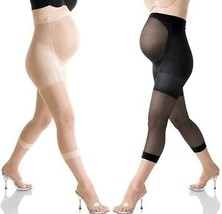 NWT Mama SPANX 007 Maternity Footless Pantyhose Back & Belly Support Sha... - $18.99