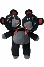 Killstar Kreepture Duality Gothic Punk Teddy Bear Plush Animal Toy KSRA0... - $33.76
