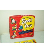vintage Kiddie's spell-fun educational toy 1954 Mastercraft EXCEPTIONALL... - $17.77