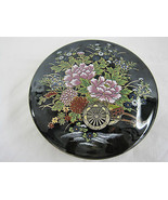 Vintage Imperial Kutani Japanese Round Covered Trinket Box Dish Container - $79.99