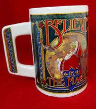 Christmas Santa Large Mug Cup I Believe in the Magic - $19.95