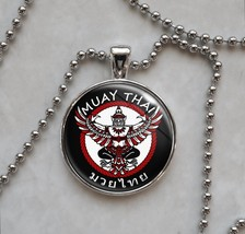 Muay Thai Martial Arts MMA Thai boxing Tharshanning Pendant Necklace - £10.04 GBP+