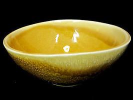 California  Pottery USA  Gold/Yellow Vegetable Bowl Shape P3 - $24.45