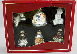 Christmas Ornament Glass Baby Items First Holiday St. Nicholas Square Kohl's - $22.99