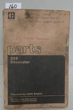 Cat Caterpillar 235 Excavator Parts Book Manual 32 K789   32 K1300 3 N39 To 3 N56 - $29.09