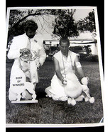Poodle Dog Show Winners Picture 1982 Black White 8 X 10 Ch. Jan'l Jaymeson  - $28.95